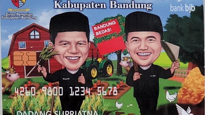 Logo kartu tani Si Bedas Kabupaten Bandung