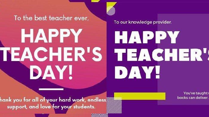 Pantun-pantun Hari Guru Nasional 2020, Bagikan Hari Ini pada 25 November via WhatsApp atau Medsos
