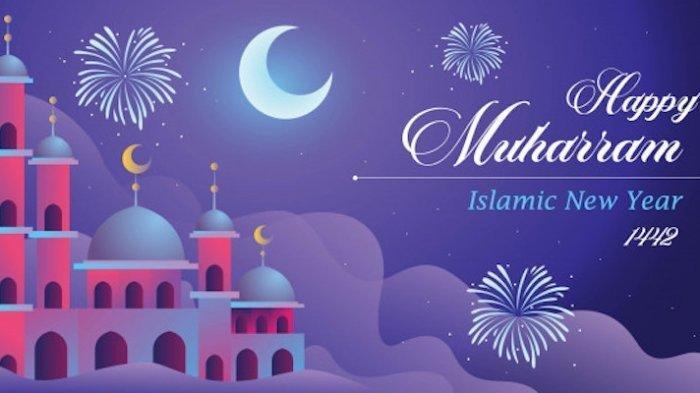 Tahun Baru Islam 1442 H Sehari Lagi, Yuk Bagikan Kartu Ucapan Ini Buat Orang Tersayang Lewat Medsos
