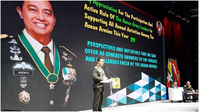Kasad Andika Perkasa Sebut TNI akan Bantu Sejumlah Permasalahan Negara ASEAN