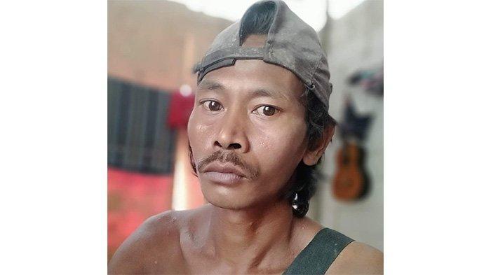 Kasno hilang di bukit Pasir Andong di Pangandaran, Jawa Barat.