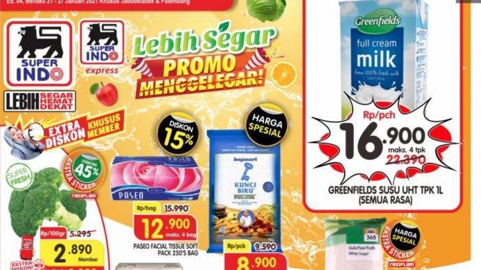 KATALOG Promo Superindo Periode 21 - 27 Januari 2021, Ada Diskon Harga Deterjen dan Buah-buahan