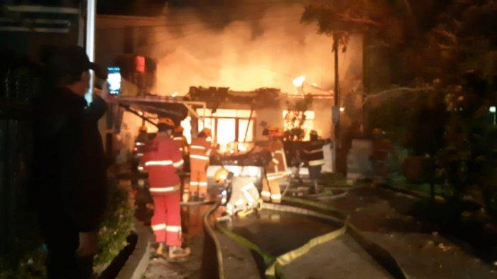 23 Orang Mengalami Luka Bakar Akibat Ledakan dalam Sebuah Kebakaran di Medan