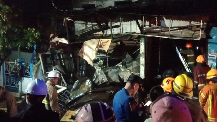 kebakaran di Arcamanik Bandung