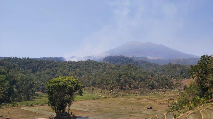 Kebakaran Lahan dan Hutan Sudah Padam, Jalur Pendakian Gunung Ciremai Masih Ditutup