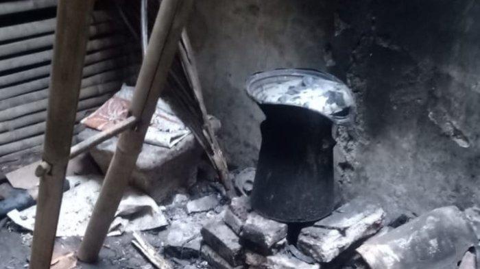 Mang Aleh Terkejut Saat Pulang dari Masjid, Rumah Terbakar, Istrinya Meninggal