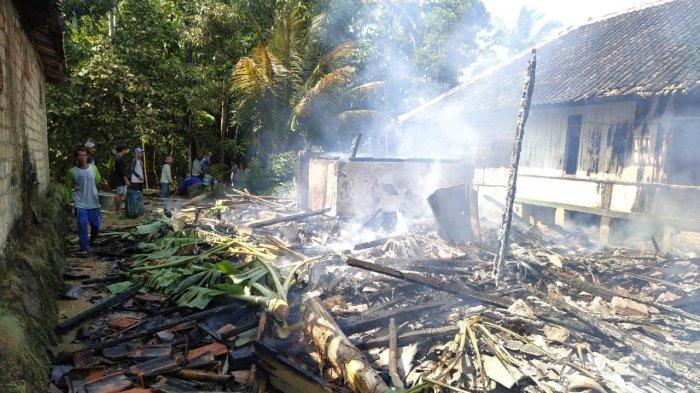 Dua Kebakaran Terjadi di Ciracap Sukabumi Hari Ini, Dua Rumah Rata dengan Tanah