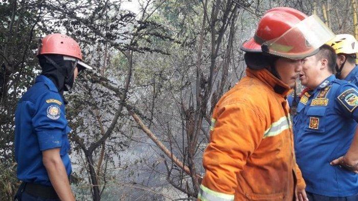 Gara-gara Kebakaran di Sekitar Sungai Cilamaya, Bebersih di Purwakarta Dihentikan