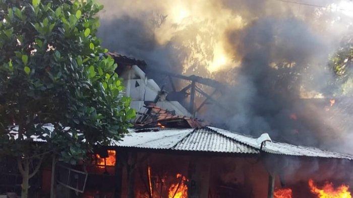Bengkel di Sukasari Purwakarta Terbakar, 6 Motor dan Seluruh Peralatan Hangus