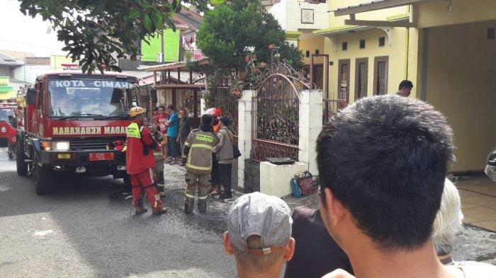 Kebakaran Timpa Satu Unit Rumah di Kota Cimahi, Tumpukan Buku Ludes jadi Abu