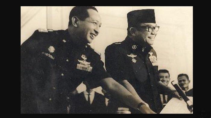 Keberadaan Soeharto saat peristiwa G30S
