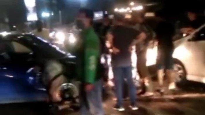 Avanza Terbakar di Tol Padaleunyi, Sebelumnya Diduga Tabrakan di Dua Tempat di Kota Bandung