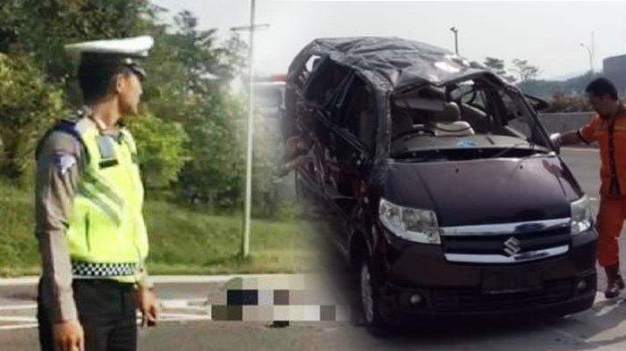 KRONOLOGI Kecelakaan Mobil Suzuki APV Tewaskan 3 Orang di Tol Jagorawi, Videonya Menyebar