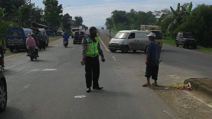 Kecelakaan di Jalur Lingkar Selatan Sukabumi, Tiga Kendaraan Rusak Penumpang Motor Dirawat Intensif