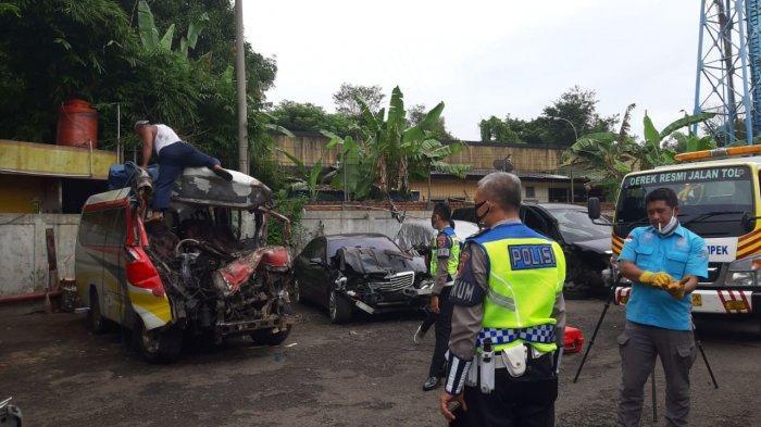 Begini Posisi Para Penumpang Korban Kecelakaan Maut Tol Cipali KM 78, 10 Korban Meninggal dan 2 Luka