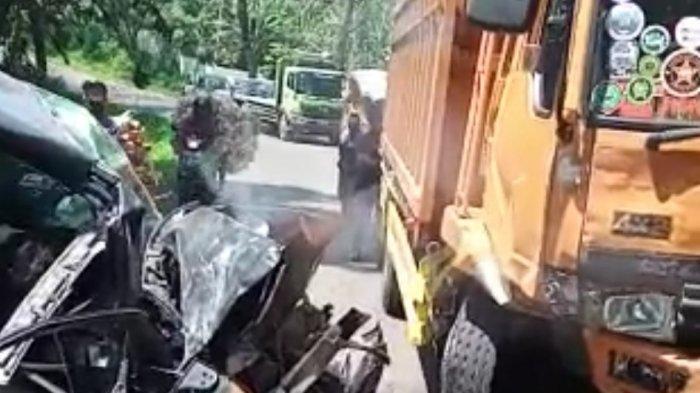 kecelakaan maut truk fuso vs avanza