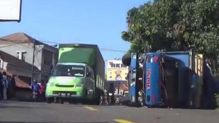Begini Kronologi Kecelakaan Beruntun di Jalan Raya Bandung-Sumedang, Dipicu Sopir Truk yang Ngantuk