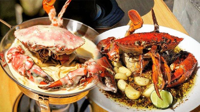 3 Tempat Makan Kuliner Kepiting Yang Maknyus Di Bandung Ada Yang Sediakan Kepiting Alaska Halaman All Tribun Jabar