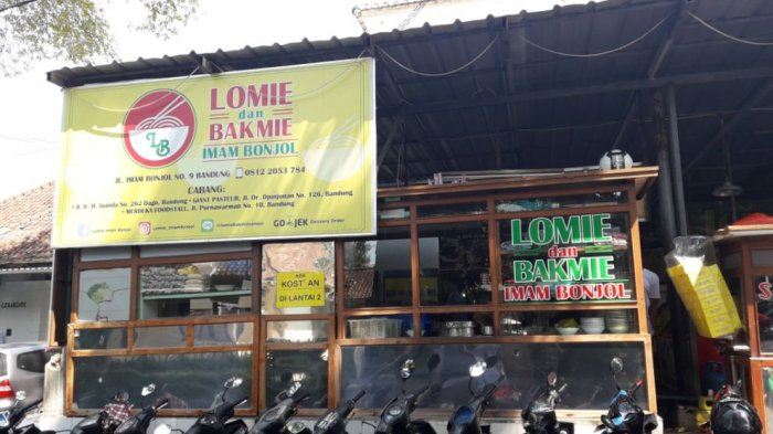 Lomie Imam Bonjol Sajikan Lomie Halal Sejak 1977, Rasanya? Bikin Nagih -  Tribun Jabar