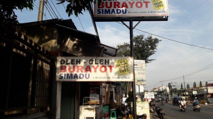Kedai Oleh Oleh Simadu Tawarkan Kue Burayot Asli Khas Garut di Cinunuk Sejak 1993