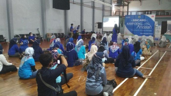 Ingatkan Pentingnya KB di Batujajar, Andalan Kontrasepsi Gelar Program Kampoeng Andalan