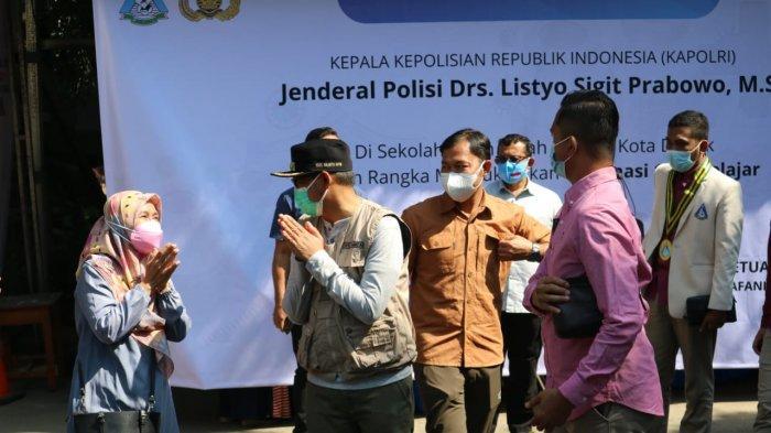 Wakil Wali Kota Depok Imam Budi Hartono Apresiasi Vaksinasi yang Digelar PB Pelajar Islam Indonesia