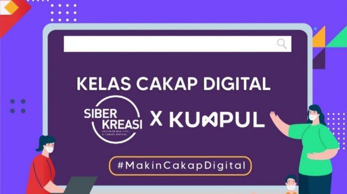 Tingkatkan Literasi Digital, Kominfo Buka Kembali Kelas Cakap Digital, Digelar Juga di Bandung