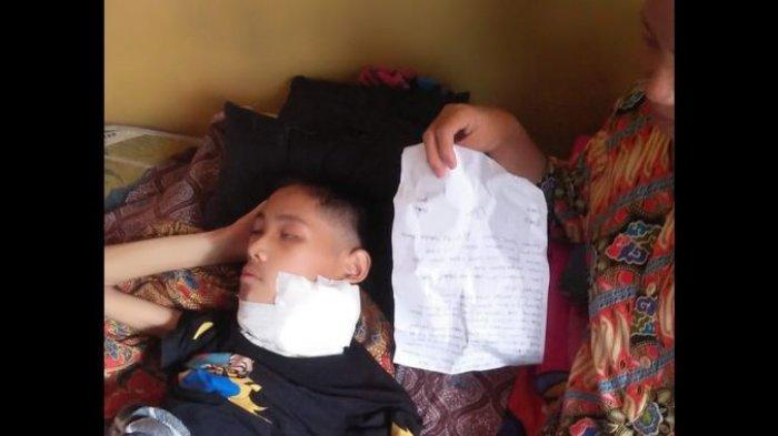Rahang Asep Keropos dan Harus Diganti, Keluarga Berharap Bantuan Biaya kepada Bupati Garut