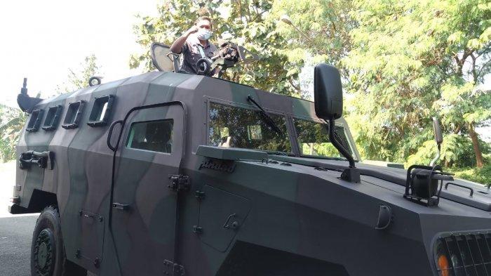 Berkeliling Yon Armed 9 Pasopati Kostrad Jajal Komodo, Kendaraan Tempur Buatan Pindad
