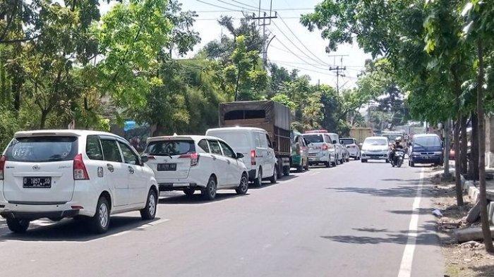 Hingga Sore Jalanan di Cimahi Dekat Exit Tol Baros Padat, Imbas Ganjil Genap di Pintu Tol Bandung