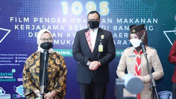 BPOM Bandung Pecahkan Rekor Muri Atas Pembuatan 1.095 Film Pendek Obat dan Makanan