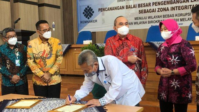 Hasil Pelatihan di BBPLK Bandung Terserap Industri, Canangkan Zona Integritas Menuju WBK