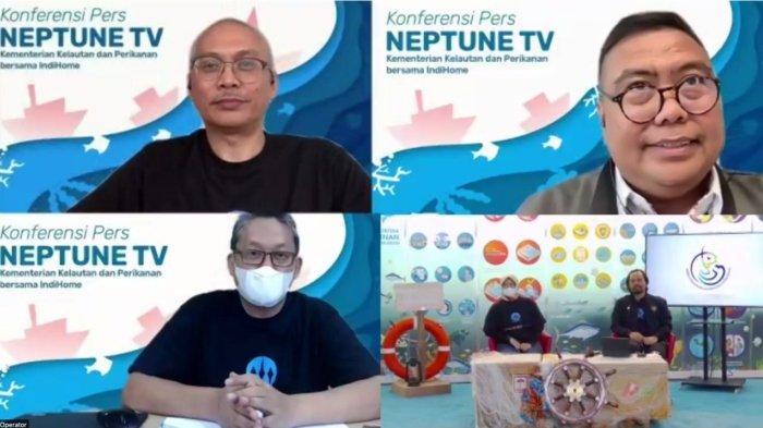 Sajikan Informasi Tentang Sektor Kelautan dan Perikanan, IndiHome Resmi Siarkan NeptuneTV KKP