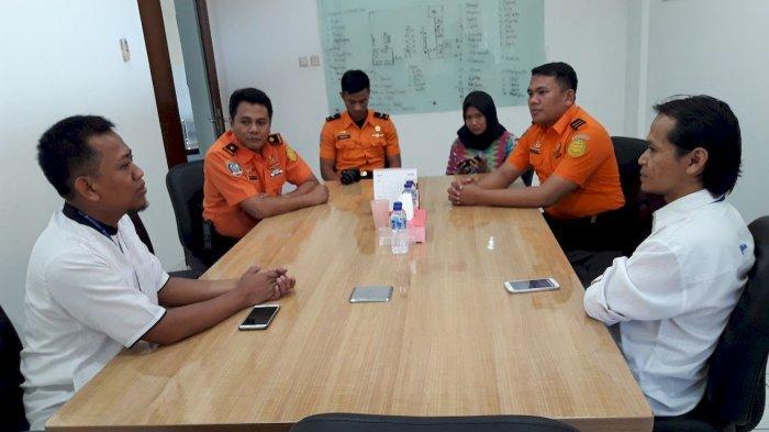 Basarnas Jawa Barat Silaturahmi Ke Kantor Tribun Jabar, Kakansar: Harus Tulus Dalam Bekerja