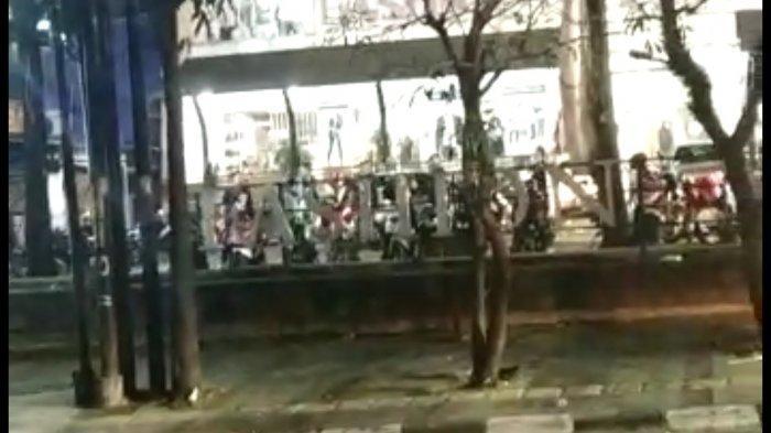 Beredar Video Keributan di Jalan Setiabudi Bandung, Libatkan Geng Motor,