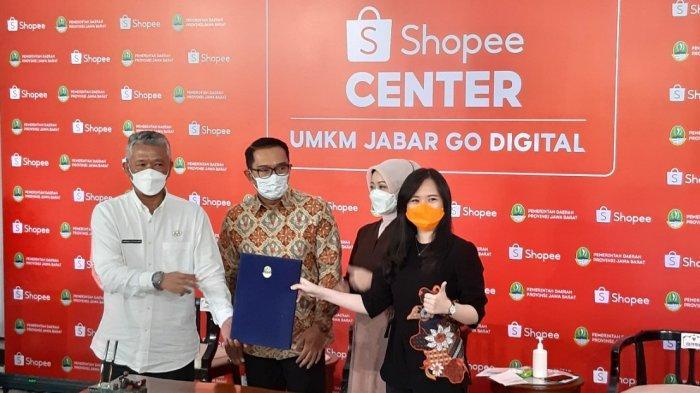 Pemprov Jabar dan Shopee Bangun UMKM Center di 5.312 Desa, Begini kata Ridwan Kamil