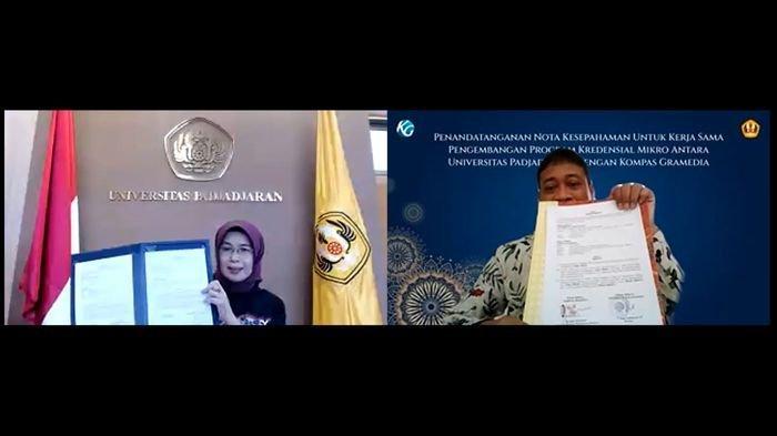 Kompas Gramedia dan Universitas Padjadjaran Bekerja Sama dalam Pengembangan Program Kredensial Mikro