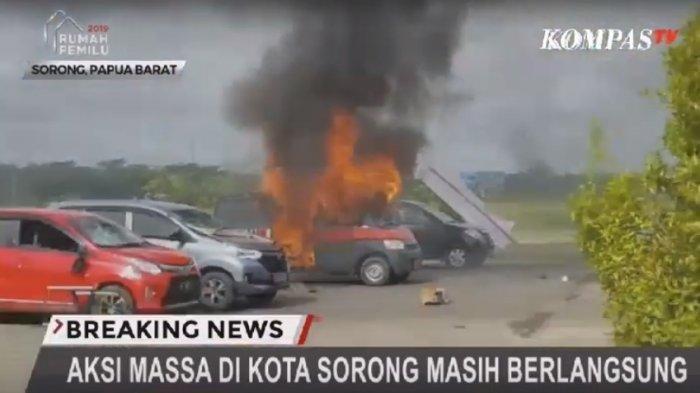 UPDATE Manokwari Rusuh, Bandara Domine Eduard Osok di Sorong Juga Dirusak