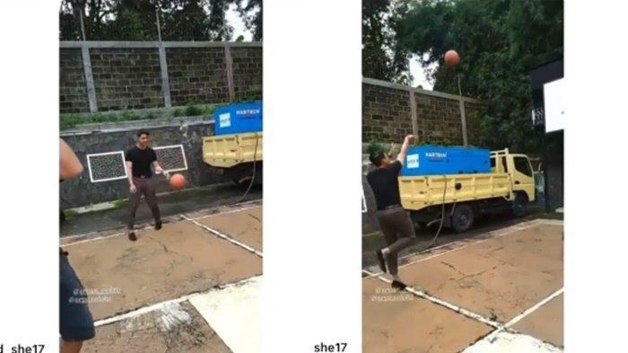 Arya Saloka main basket buat warganet melelh