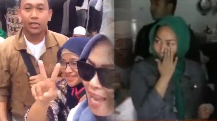 Video Penangkapan 2 Wanita di Video Ancam Penggal Jokowi, IY Usap Mata, R Protes Tak Boleh Telepon
