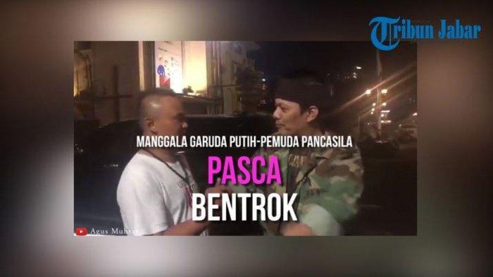 Ketua Ormas Manggala dan Pemuda Pancasila Janjikan Bandung Kondusif Pasca Ada Bentrokan di Bandung