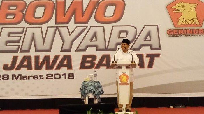 Ahmad Muzani: Keinginan Internal Partai Gerindra, Prabowo Maju di Pilpres 2024