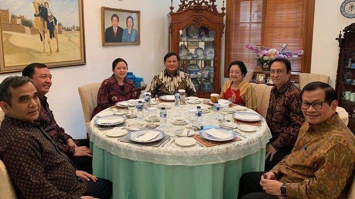 Pertemuan Prabowo Subianto dan Megawati, Dibumbui 'Politik Nasi Goreng', Ada Kesepakatan Politik?