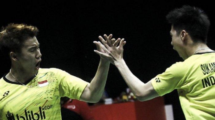 Kevin Sanjaya Banting Raket, Karena Faktor Mental, Marcus/Kevin Tersingkir di Olimpiade Tokyo 2020