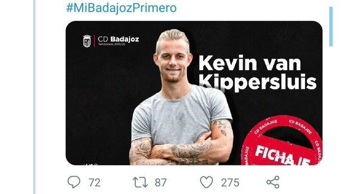 Kevin Van Kippersluis Eks Pemain Persib Bandung Bergabung dengan Klub Liga Spanyol