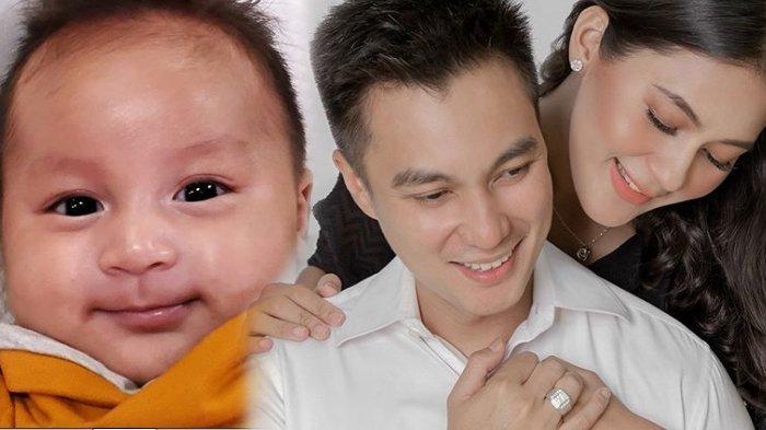 Kiano Tiger Wong, bayi Baim Wong dan Paula Verhoeven makin lucu dan ganteng.