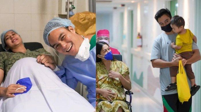 Kiano Tiger Wong ikut Baim Wong mengantarkan Paula Verhoeven yang akan melahirkan.