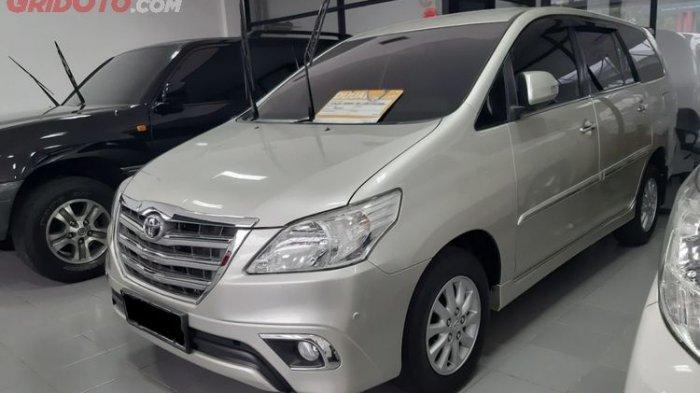 Update Daftar Harga Mobil Bekas Toyota Kijang Innova di Awal 2021, Paling Murah Rp 68 Jutaan Saja