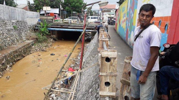 Hadapi Musim Hujan, Kirmir Sungai Cipamokolan Bandung Diperbaiki