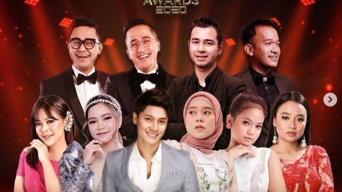 LINK LIVE STREAMING Kiss Awards 2020 Malam Kedua di Indosiar, Lesti dan Rizky Billar Tampil Lagi
